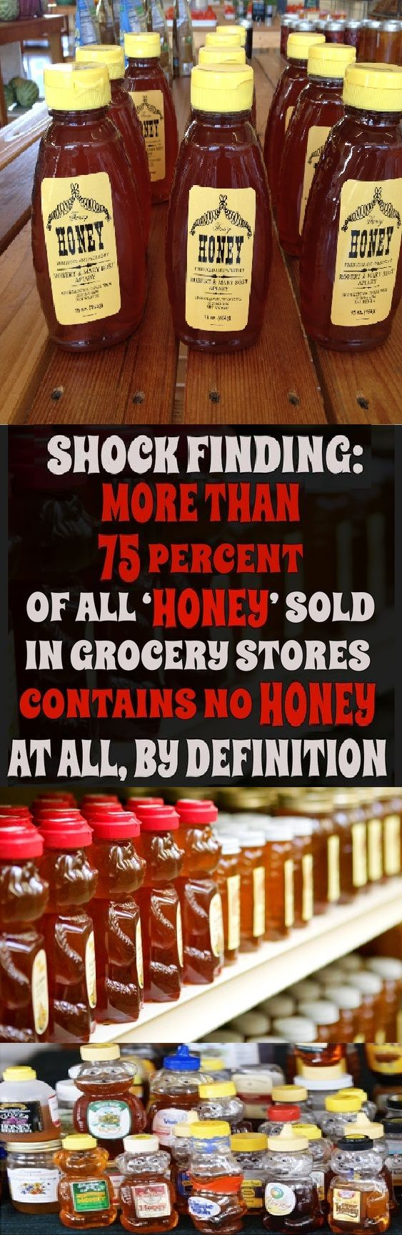 Shock finding: More than 75 percent of all 'hone…