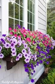 Image result for fake window box flowers