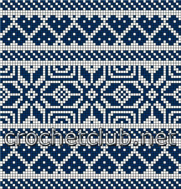 137 best Knitting. JAQUARD. FAIR ISLE images on Pinterest ...