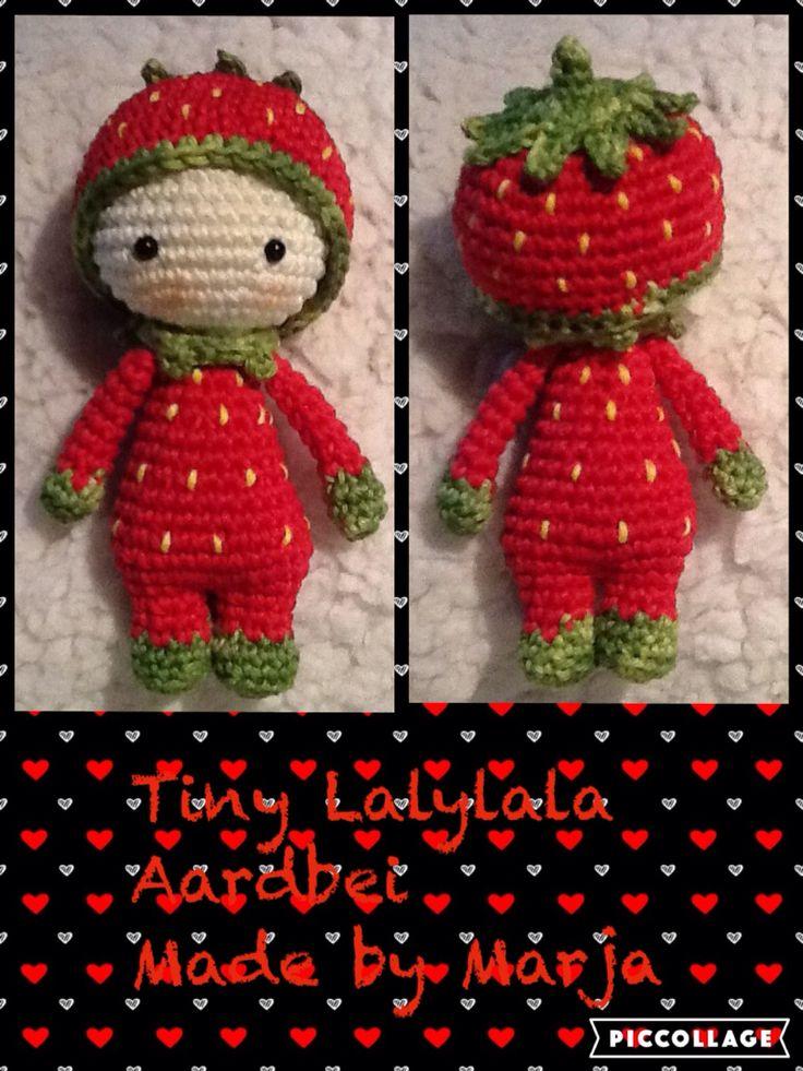 Tiny Lalylala aardbei by Marja Post