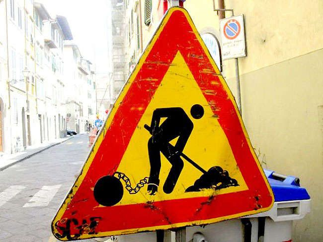 Comically Altered Street Signs (UPDATE) : street sign graffiti