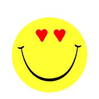 carita feliz corazon beso