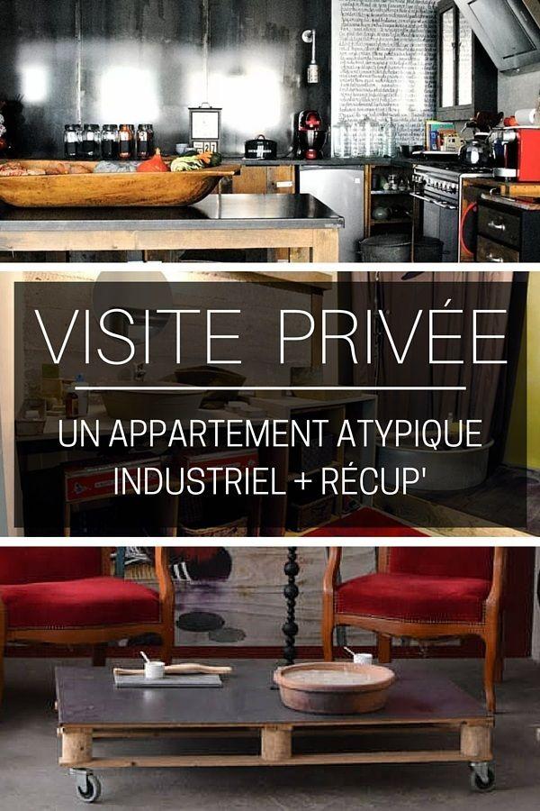 238 best images about visites on pinterest coins prague - Appartement style industriel ...