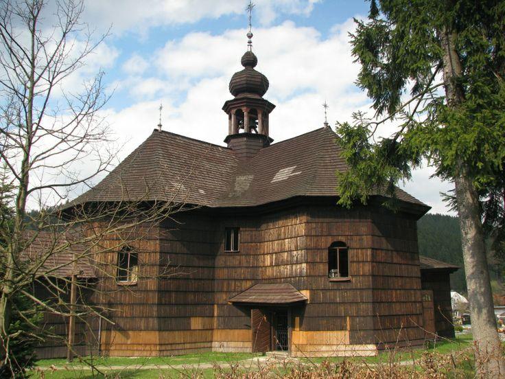 Kostel Panny Marie Sněžné, Velké Karlovice, Czech republic