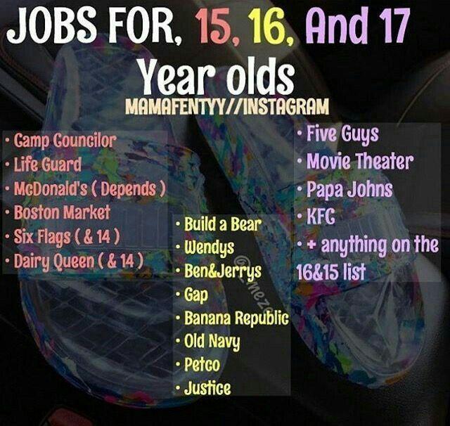 Pin Jahyraaa Jobs For Teens Making Money Teens Money Saving Tips
