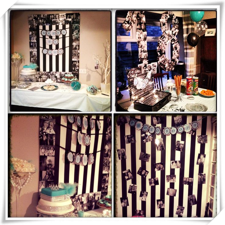 18th Birthday Party Tiffany Blue Style