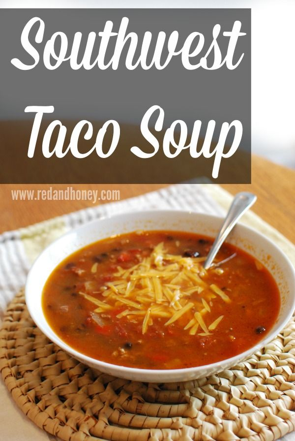 This taco soup recipe is a mouth-watering explosion of hearty Tex-Mex flavors, sure to please even the pickiest soup palate!