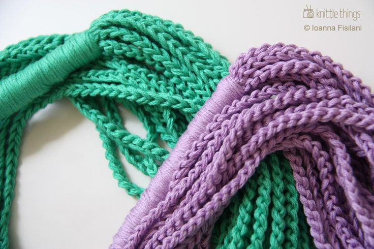 knittle things infinity scarf | cotton | crochet