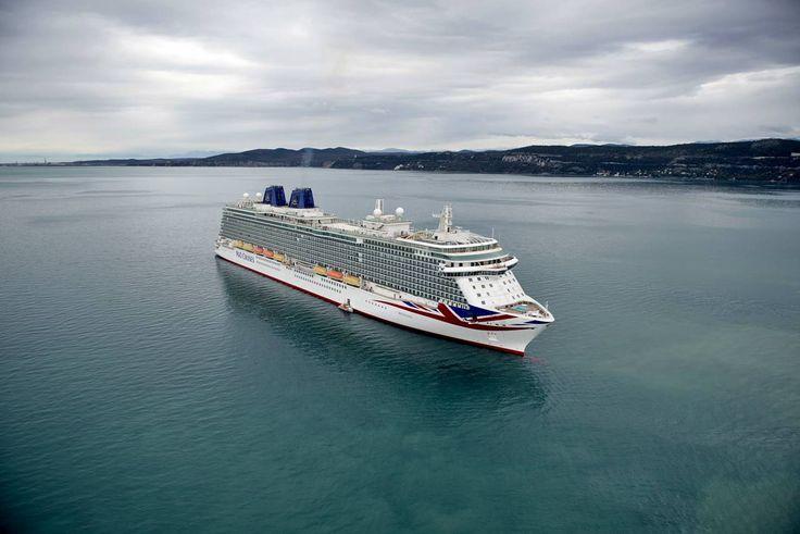 P&O Cruises, prove tecniche in mare per la nuova Britannia