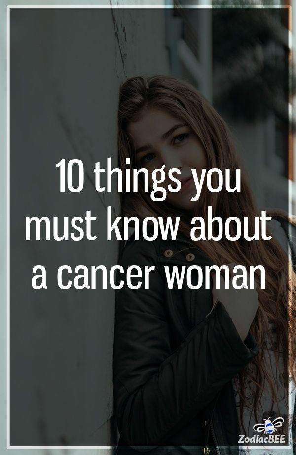 How to get a cancer woman to chase you
