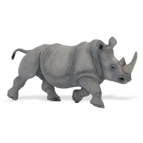 "Safari Ltd Wildlife Wonders  Rhino by Safari. Save 21 Off!. $14.24. Measures 12.5"" L x 5.75"". For ages 3 and above. Hand-painted and phthalate free. Includes five language educational information. From the Manufacturer                This extremely realistic, large scale and lightweight replica brings your favorite wild animals to life for hours of play. Hand-painted and phthalate free as always. It includes 5-language educational information. This replica measures 12.5"" L x 5.75"" ..."