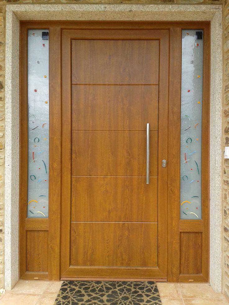 IP7 - 4LINE Aluminio foliado #indupanel #paneles #puertas #modernas #ipstamp #aluminio #puerta #aluminium  #doors #chalet #decoration #decoracion #hogar #diseño #clasico #modern #design #lacado #madera #estampacion #estampado #print # stamping