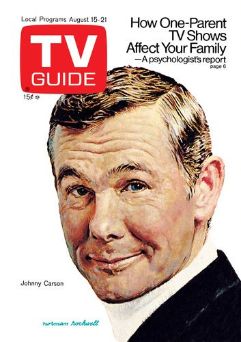 Johnny Carson by NORMAN ROCKWELL