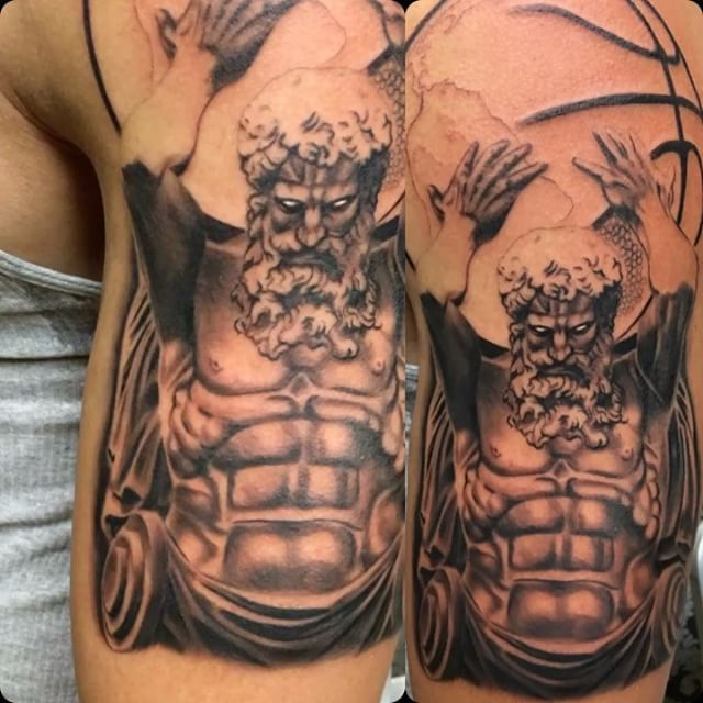 25 Best Ideas About Basketball Tattoos On Pinterest: Best 25+ Atlas Tattoo Ideas On Pinterest