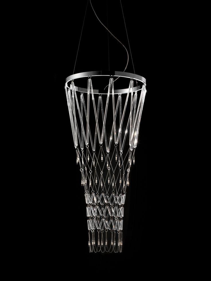 Chiari di Lunae by Vistosi and Morellato  #design Veneziano+Team #GianniVeneziano #LucianaDiVirgilio #Morellato #Vistosi #ChiaridiLunae #Starnet #project #design #art #jewellamp