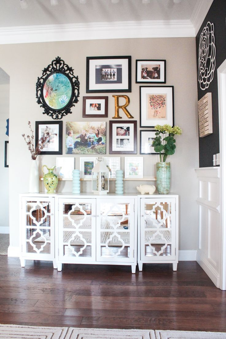 fab fridays planning a gallery wall our nest home decor rh pinterest com