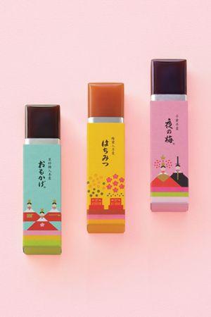 和菓子の老舗「とらや」の菓子で、ひなまつりを彩る。perfume? PD