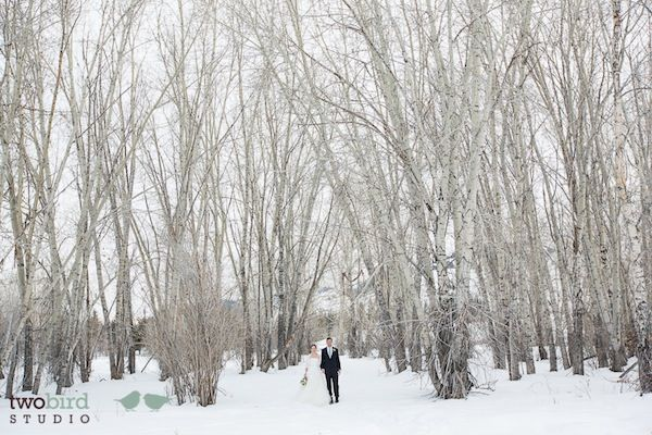 Sun Valley Winter Wedding