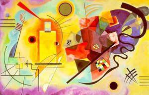 A Arte Abstrata tende a suprimir toda a relação entre a realidade e o quadro, entre as linhas e os planos, entre as cores e a significação que esses elementos podem sugerir ao espírito.