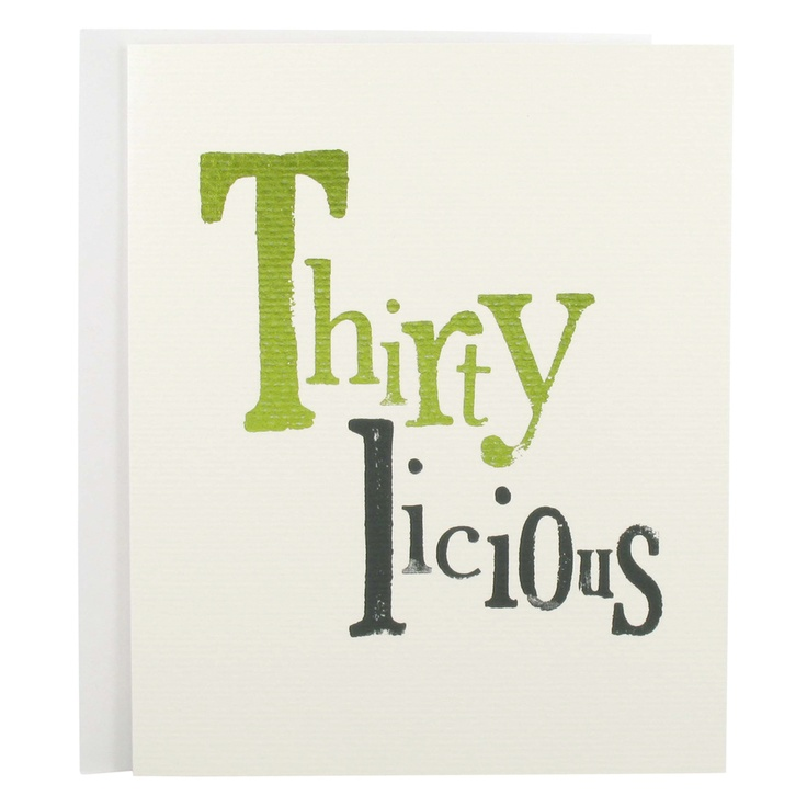 Thirtylicious- 30th Birthday party.