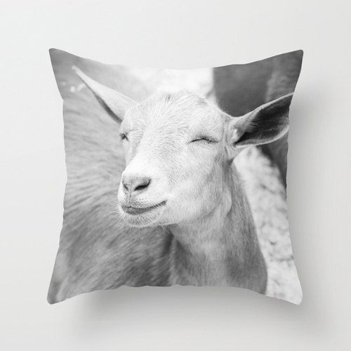 Goat Pillow Case Farm Animal Pillow Cover 40x40 40x40 40x40 Cool Tommy Hilfiger Decorative Pillow Coussin Almohada