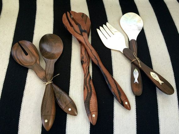 Choice of Vintage Serving Utensils made of by JesseDimondDesign