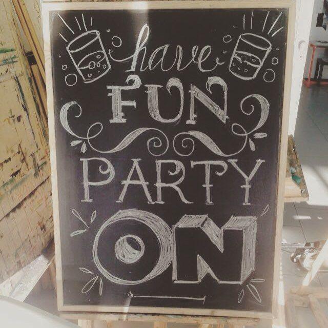 #chalk #chalkboard #chalkart #chalkboardart #chalkboardwall #chalky #chalkyou #chalklettering  #thechalkboardeats #chalklove #party