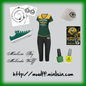 Game day with the Packers today? Don't forget to add your favorite piece of jewelry! www.mwolff.mialisia.com