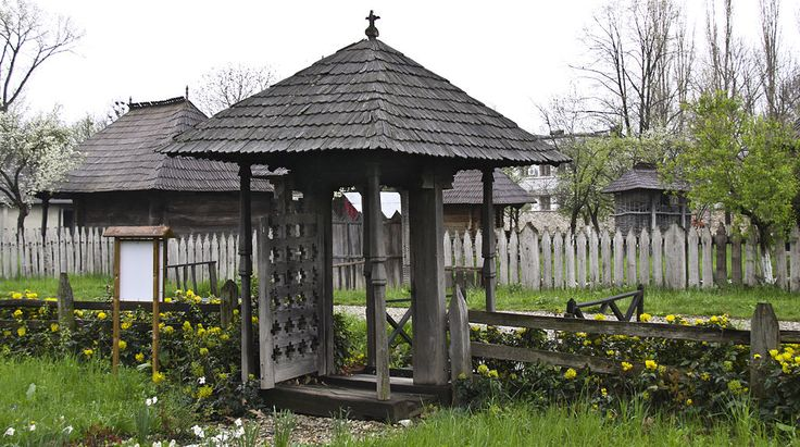 Dragutesti AG bis lemn portita - Biserica de lemn din Drăguțești, Argeș…
