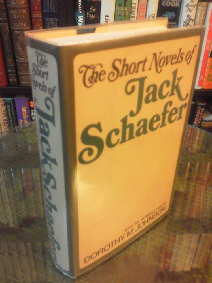 """You know, I... I like a man who watches things go on around. It means he'll make his mark someday. ""  Shane, Jack Schaefer The Short Novels of Jack Schaefer - Jack Schaefer (1st Edition, Signed, 1967)"