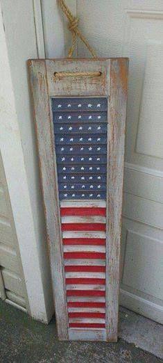 Shutter flag