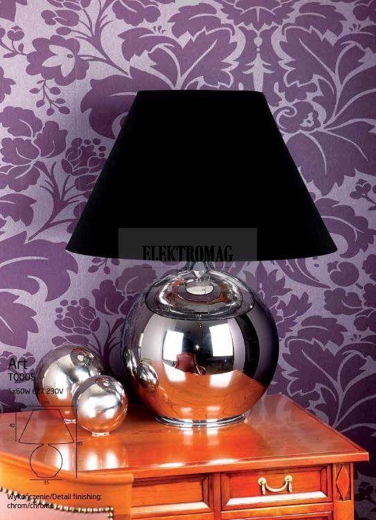 MAXLIGHT LAMPA STOŁOWA ART T0005 : Lampy stołowe : Sklep internetowy Elektromag (#glamour #lamp)