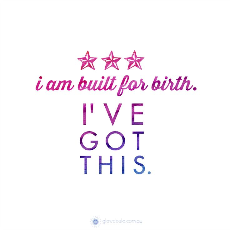 I am built for birth.  I've got this!  #birthaffirmation #quotes #inspiration Get the full set of printables here:  http://glowdoula.com.au/birth-affirmations/