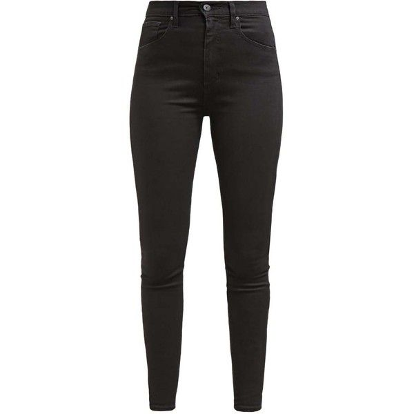 Levi's MILE HIGH SUPER SKINNY ❤ liked on Polyvore featuring jeans, pants, bottoms, calças, trousers, levi jeans, levi skinny jeans, skinny fit jeans, skinny leg jeans and skinny jeans