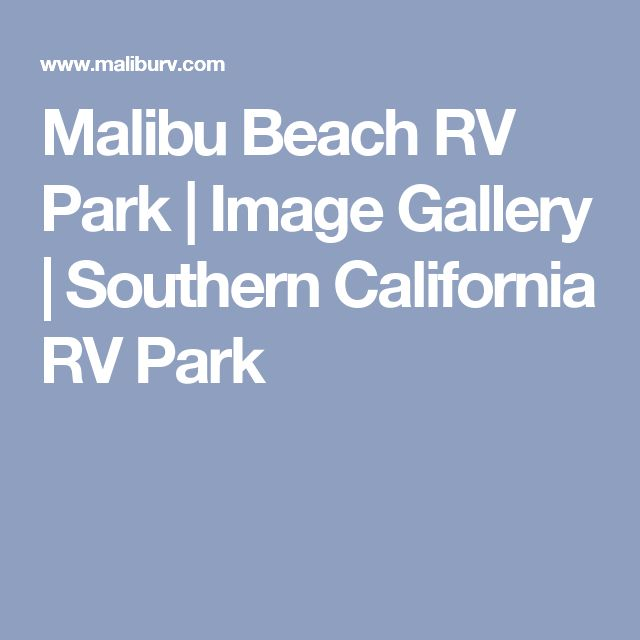 1000+ Ideas About Rv Parks On Pinterest