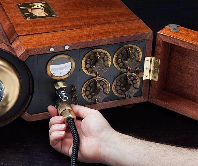 Imaginary World: El generador Steampunk Gaming Cabinet funciona realmente con vapor