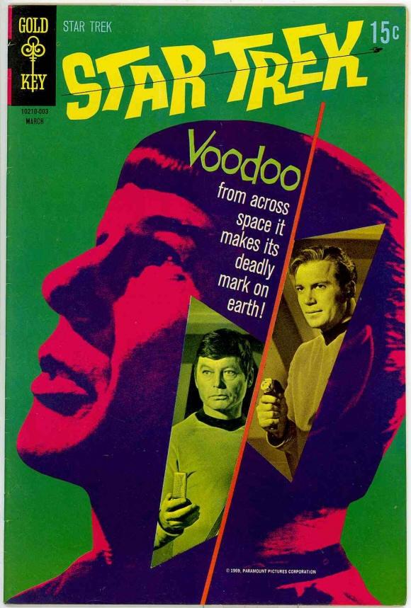 Star Trek Gold Key Comics, original 1967