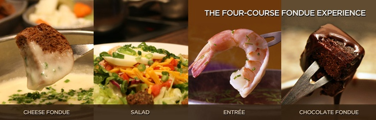 """The Melting Pot.  Probably one of my favorite """"special occasion"""" restaurants."""