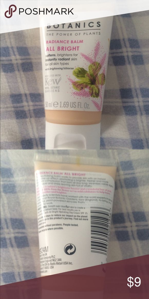 Boots Botanics Radiance Balm All bright. Brand new. 50ml. Boots Makeup Luminizer
