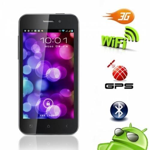 ZP500 + 4.0 tactile  Écran de téléphone portable  Ce téléphone dispose d'un Android 4.0 OS, Simple SIM, quadri-bande GSM 850, une mémoire interne de 512 Mo, 4.0 pouces, résolution de 5 millions de caméra de pixel et WiFi.