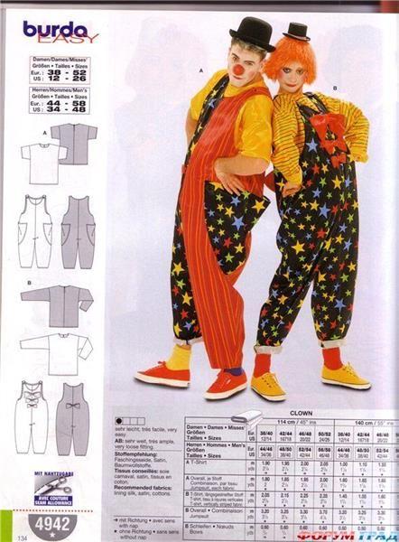 Павловский посад костюмы клоуна