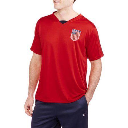 Big Men's USA Soccer Jersey, Size: 4XL, Red