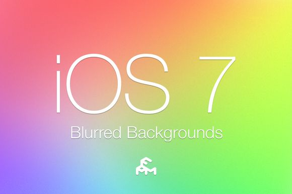 Check out 30 iOS 7 Blurred Backgrounds by MARTINI Type Designer on Creative Market