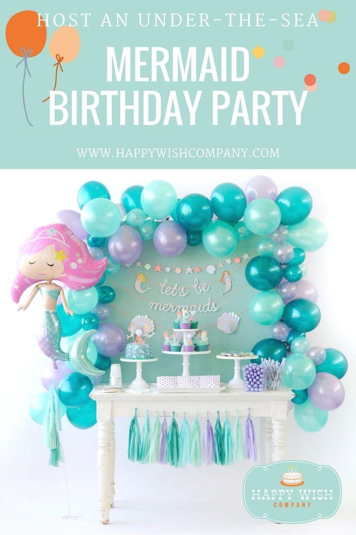 Mermaid Birthday Party Supplies