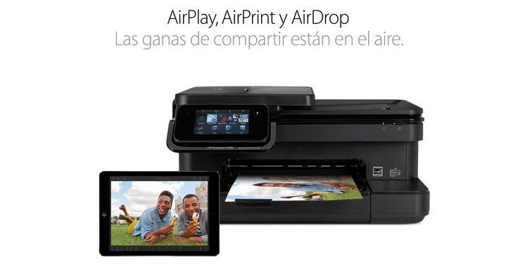 AirPrint #PorquéunaMac #GeniosApple #Apple #iPad #iPadmini