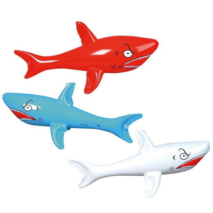 Inflatable shark