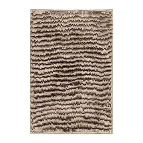 IKEA - TOFTBO, Baderomsmatte, Ekstra myk, absorberende og den tørker raskt, siden den er laget av mikrofiber.