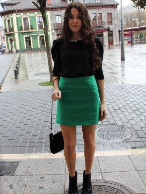 ccpetiterobenoire Outfit   Otoño 2012. Combinar Botines Negros Zara, Camisa-Blusa Negra Zara, Cómo vestirse y combinar según ccpetiterobenoire el 29-11-2012
