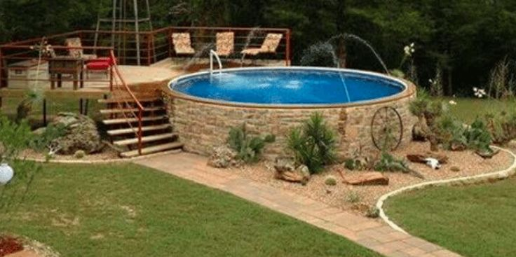 Stock Tanks Are An Easy And Affordable Way To Put A Pool In Your Backyard