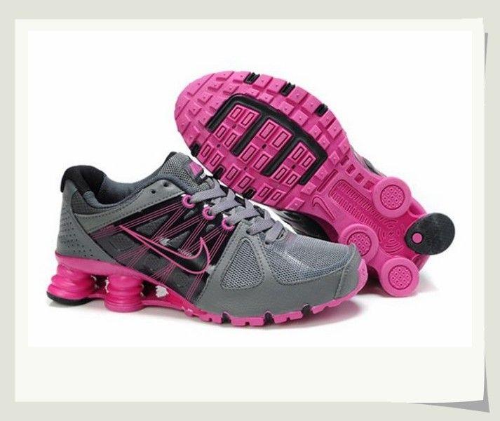 Nike Shox Pink And Grey